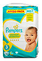 Pampers premium protection Windeln Gr. 3 (6-10 kg) Jumbo Pack