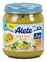 Alete Menü Spinat-Käse-Risotto