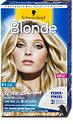 Poly Blonde Feder-Balayage Aufhellung