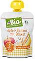 dmBio Fruchtdessert Apfel-Banane mit Dinkel