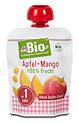 dmBio Fruchtdessert Apfel-Mango