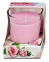 Profissimo Duftglas Kerze Rose