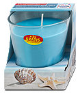 Profissimo Duft-Glas Kerze Meeresrauschen