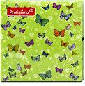 Profissimo Servietten Kleine Schmetterlinge