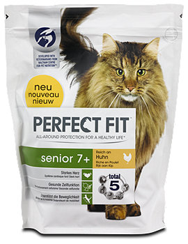 Perfect Fit senior 7+ Katzenfutter reich an Huhn