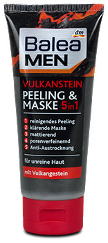Balea MEN Vulkanstein 5in1 Peeling & Maske