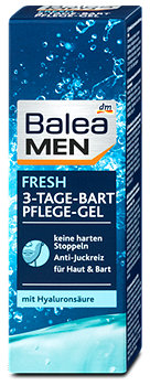 Balea MEN 3-Tage-Bart Pflege-Gel Fresh