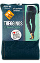 nur die Treggings in Jeans Optik