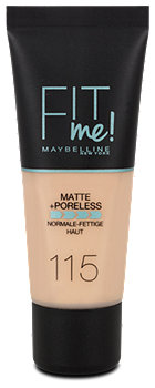 Maybelline Fit me Matte + Poreless Mattierendes Make-up