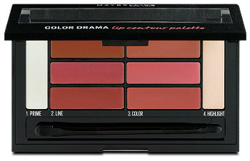 Maybelline Color Drama Lip contour Palette