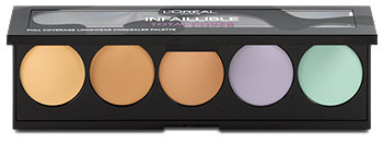 L'Oréal Paris Infaillible Total Cover Concealer Palette