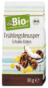 dmBio Frühlingsknusper Schoko Kokos