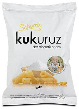 Schorn's kukuruz biomaissnack Salz