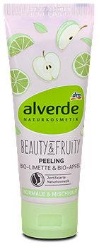 alverde Beauty & Fruity Peeling Bio-Limette & Bio-Apfel