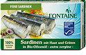 Fontaine Sardinen in Bio-Olivenöl