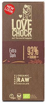 lovechock Organic Raw Schokolade 93 % Kakao