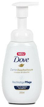 Dove Zarter Duschschaum Reichhaltige Pflege