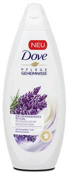 Dove Pflegedusche Entspannendes Ritual mit Lavendel- und Rosmarinduft
