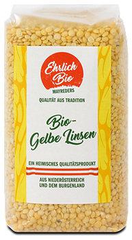 Ehrlich Bio Mayreders Bio-Gelbe Linsen