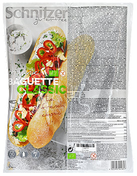 Schnitzer glutenfreies Bio Baguette Classic 2er Pack