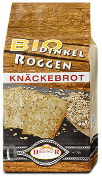 Hirzinger Bio Dinkel Roggen Knäckebrot