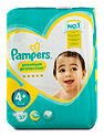 Pampers premim protection Windeln Gr. 4+ (9-18 kg) Value Pack