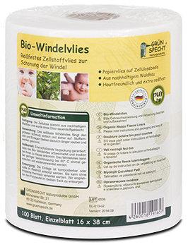 Grünspecht Bio-Windelvlies