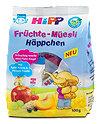 Hipp Früchtemüsli Häppchen Apfel- Aronia & Pfirsich-Traube