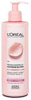 L'Oréal Kostbare Blüten Reinigungsmilch sensible und trockene Haut