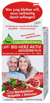 LiquidWellness Herz aktiv Kräuter-Elixier