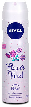 Nivea Deodorant Flower Time!