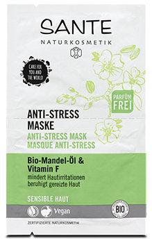 Sante Gesichtsmaske Anti-Stress Bio-Mandel-Öl & Vitamin F