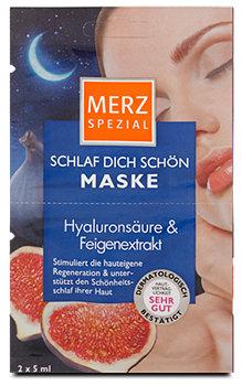 Merz Spezial Schlaf Dich Schön Maske Hyaluronsäure & Feigenextrakt
