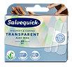 Salvequick transparente Pflaster mit Aloe Vera