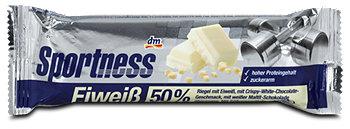 Sportness Eiweißriegel Crispy-White-Chocolate