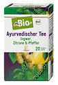 dmBio Ayurvedischer Tee mit Ingwer, Zitrone & Pfeffer