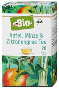 dmBio Apfel, Minze & Zitronengras Tee