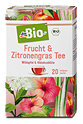 dmBio Frucht & Zitronengras Tee