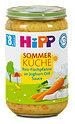 Hipp Babybrei Sommer Küche Reis-Fischpfanne an Joghurt-Dill Sauce