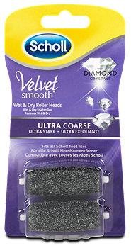 Scholl Velvet smooth Ersatzrollen Diamond ultra stark