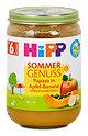 Hipp Sommer Genuss Papaya in Apfel - Banane