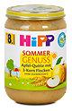 Hipp Apfel Quitte mit 3-Korn Flocken
