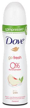 Dove go fresh compressed Deospray Pfirsich & Zitronenverbene