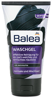 Balea Waschgel mit Aktivkohle