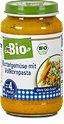 dmbio Babymenü Buttergemüse mit Vollkornpasta