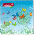 Profissimo Servietten Bunte Schmetterlinge