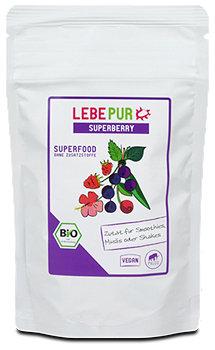 Lebepur Bio-Pflanzenpulver Superfood