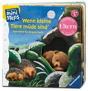 Ravensburger ministeps Kinderbuch Wenn kleine Tiere müde sind