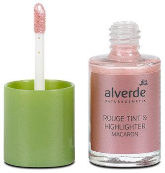 alverde Rouge Tint und Highlighter
