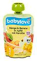 babylove Fruchtpüree Mango & Banane in Apfel mit Karotte
